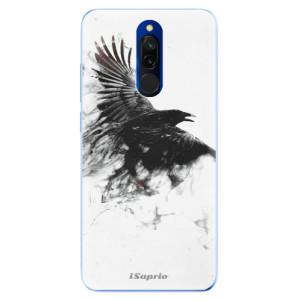 Silikonové odolné pouzdro iSaprio - Dark Bird 01 na mobil Xiaomi Redmi 8