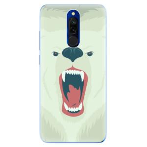 Silikonové odolné pouzdro iSaprio - Angry Bear na mobil Xiaomi Redmi 8