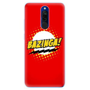 Silikonové odolné pouzdro iSaprio - Bazinga 01 na mobil Xiaomi Redmi 8