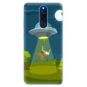 Silikonové odolné pouzdro iSaprio - Alien 01 na mobil Xiaomi Redmi 8