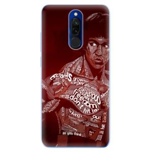 Silikonové odolné pouzdro iSaprio - Bruce Lee na mobil Xiaomi Redmi 8