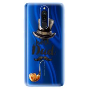 Silikonové odolné pouzdro iSaprio - Best Dad na mobil Xiaomi Redmi 8