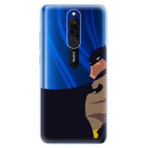 Silikonové odolné pouzdro iSaprio - BaT Comics na mobil Xiaomi Redmi 8