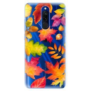 Silikonové odolné pouzdro iSaprio - Autumn Leaves 01 na mobil Xiaomi Redmi 8