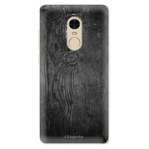 Silikonové odolné pouzdro iSaprio - Black Wood 13 na mobil Xiaomi Redmi Note 4