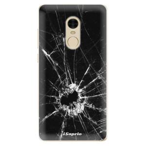 Silikonové odolné pouzdro iSaprio - Broken Glass 10 na mobil Xiaomi Redmi Note 4