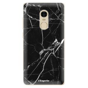Silikonové odolné pouzdro iSaprio - Black Marble 18 na mobil Xiaomi Redmi Note 4