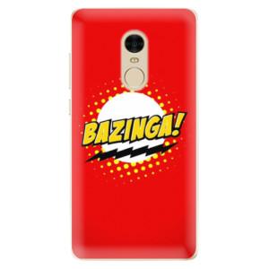 Silikonové odolné pouzdro iSaprio - Bazinga 01 na mobil Xiaomi Redmi Note 4