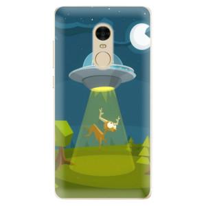 Silikonové odolné pouzdro iSaprio - Alien 01 na mobil Xiaomi Redmi Note 4