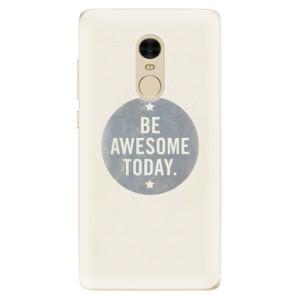 Silikonové odolné pouzdro iSaprio - Awesome 02 na mobil Xiaomi Redmi Note 4