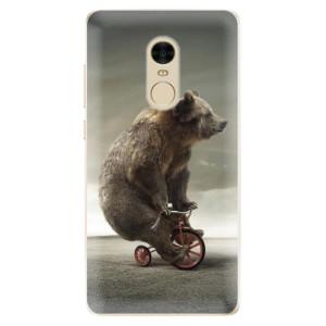 Silikonové odolné pouzdro iSaprio - Bear 01 na mobil Xiaomi Redmi Note 4