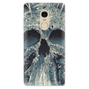 Silikonové odolné pouzdro iSaprio - Abstract Skull na mobil Xiaomi Redmi Note 4