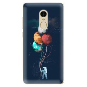 Silikonové odolné pouzdro iSaprio - Balloons 02 na mobil Xiaomi Redmi Note 4