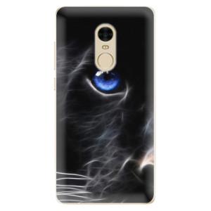 Silikonové odolné pouzdro iSaprio - Black Puma na mobil Xiaomi Redmi Note 4