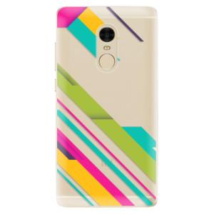 Silikonové odolné pouzdro iSaprio - Color Stripes 03 na mobil Xiaomi Redmi Note 4
