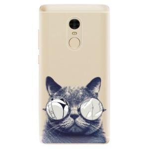 Silikonové odolné pouzdro iSaprio - Crazy Cat 01 na mobil Xiaomi Redmi Note 4