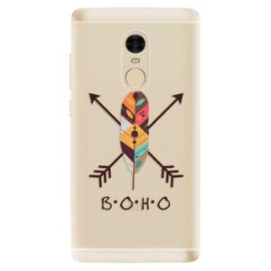 Silikonové odolné pouzdro iSaprio - BOHO na mobil Xiaomi Redmi Note 4