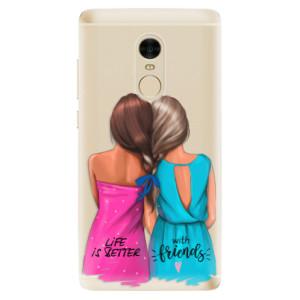 Silikonové odolné pouzdro iSaprio - Best Friends na mobil Xiaomi Redmi Note 4