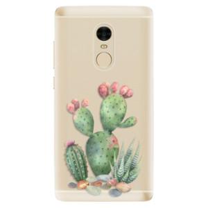 Silikonové odolné pouzdro iSaprio - Cacti 01 na mobil Xiaomi Redmi Note 4