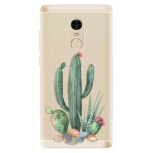 Silikonové odolné pouzdro iSaprio - Cacti 02 na mobil Xiaomi Redmi Note 4