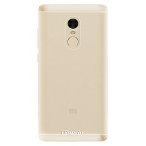Silikonové odolné pouzdro iSaprio - 4Pure - čiré bez potisku na mobil Xiaomi Redmi Note 4