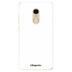 Silikonové odolné pouzdro iSaprio - 4Pure - bílé na mobil Xiaomi Redmi Note 4