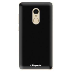 Silikonové odolné pouzdro iSaprio - 4Pure - černé na mobil Xiaomi Redmi Note 4