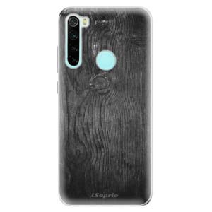 Silikonové odolné pouzdro iSaprio - Black Wood 13 na mobil Xiaomi Redmi Note 8
