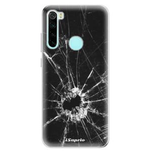 Silikonové odolné pouzdro iSaprio - Broken Glass 10 na mobil Xiaomi Redmi Note 8