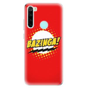 Silikonové odolné pouzdro iSaprio - Bazinga 01 na mobil Xiaomi Redmi Note 8