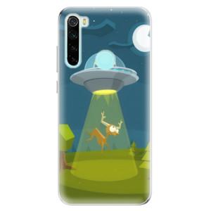 Silikonové odolné pouzdro iSaprio - Alien 01 na mobil Xiaomi Redmi Note 8