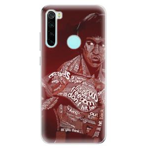 Silikonové odolné pouzdro iSaprio - Bruce Lee na mobil Xiaomi Redmi Note 8