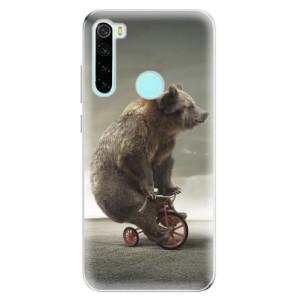 Silikonové odolné pouzdro iSaprio - Bear 01 na mobil Xiaomi Redmi Note 8