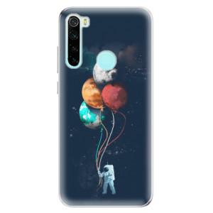 Silikonové odolné pouzdro iSaprio - Balloons 02 na mobil Xiaomi Redmi Note 8