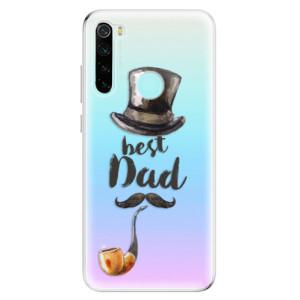 Silikonové odolné pouzdro iSaprio - Best Dad na mobil Xiaomi Redmi Note 8