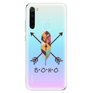 Silikonové odolné pouzdro iSaprio - BOHO na mobil Xiaomi Redmi Note 8