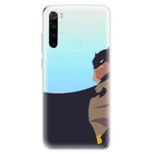 Silikonové odolné pouzdro iSaprio - BaT Comics na mobil Xiaomi Redmi Note 8