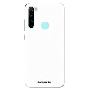 Silikonové odolné pouzdro iSaprio - 4Pure - bílé na mobil Xiaomi Redmi Note 8