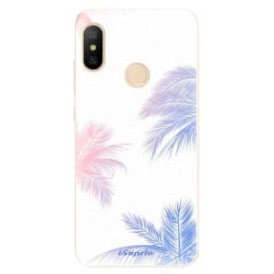 Silikonové odolné pouzdro iSaprio - Digital Palms 10 na mobil Xiaomi Mi A2 Lite