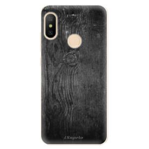 Silikonové odolné pouzdro iSaprio - Black Wood 13 na mobil Xiaomi Mi A2 Lite