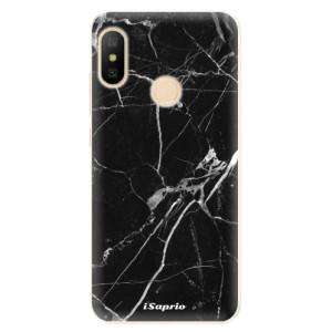 Silikonové odolné pouzdro iSaprio - Black Marble 18 na mobil Xiaomi Mi A2 Lite