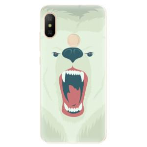 Silikonové odolné pouzdro iSaprio - Angry Bear na mobil Xiaomi Mi A2 Lite