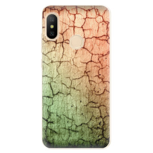 Silikonové odolné pouzdro iSaprio - Cracked Wall 01 na mobil Xiaomi Mi A2 Lite