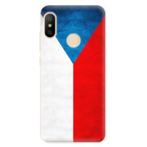 Silikonové odolné pouzdro iSaprio - Czech Flag na mobil Xiaomi Mi A2 Lite