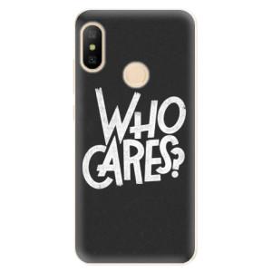 Silikonové odolné pouzdro iSaprio - Who Cares na mobil Xiaomi Mi A2 Lite