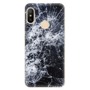 Silikonové odolné pouzdro iSaprio - Cracked na mobil Xiaomi Mi A2 Lite