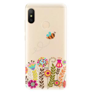 Silikonové odolné pouzdro iSaprio - Bee 01 na mobil Xiaomi Mi A2 Lite