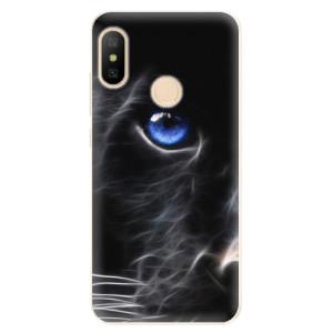 Silikonové odolné pouzdro iSaprio - Black Puma na mobil Xiaomi Mi A2 Lite