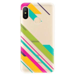 Silikonové odolné pouzdro iSaprio - Color Stripes 03 na mobil Xiaomi Mi A2 Lite