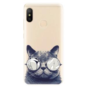 Silikonové odolné pouzdro iSaprio - Crazy Cat 01 na mobil Xiaomi Mi A2 Lite